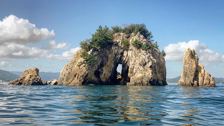 見通しの良い島